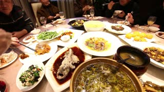 Chinese New Year: The Feast of Feasts | Eating With Locals in Sichuan! - Video