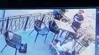 Video footage of man grabbing child at Jhb eatery