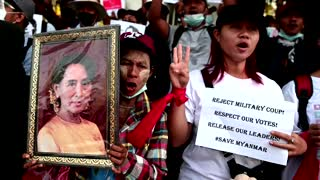 Scores dead in bloodiest day of Myanmar protests