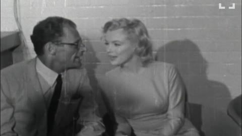 Vintage Newsreel: Newlyweds Marilyn Monroe and Arthur Miller