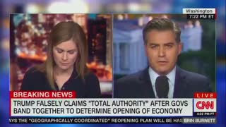 Acosta on Trump: 'The Biggest Meltdown I Have Ever Seen