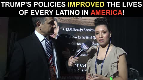 Trump's Policies Improved The Lives of Every Latino in America!