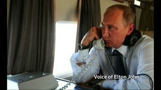 Russian comedians play 'Putin' in prank Elton John call - Video