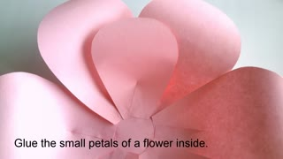 How to make paper flower - Video