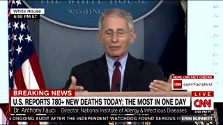 Fauci shuts down Acosta's garbage question