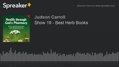 Show 19 - Best Herb Books (part 1 of 2)