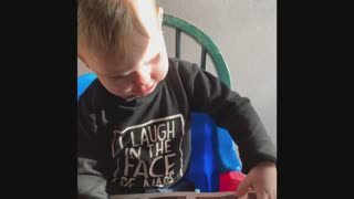 Watch the Reaction of Jax when he sees...