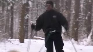 Winter Water Skiing Blooper - Video