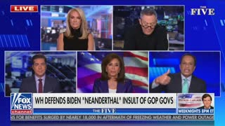 """Jesse Watters responds to """"Neanderthal thinking"""" comments"""