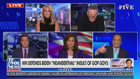 "Jesse Watters responds to ""Neanderthal thinking"" comments"