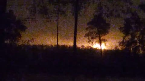 Massive chemical plant's explosion caught on tape