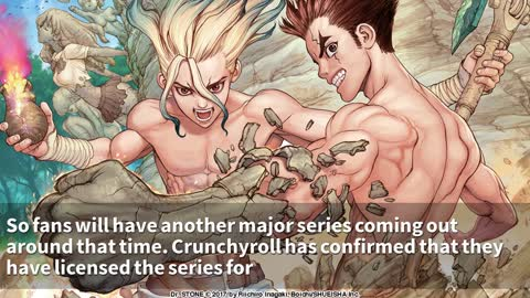 Dr. Stone Anime Confirms Premiere Date