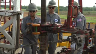 Oil prices spike after U.S. drilling falls - Video