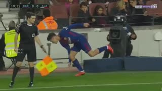 Coutinho lesión vs Alaves - Video