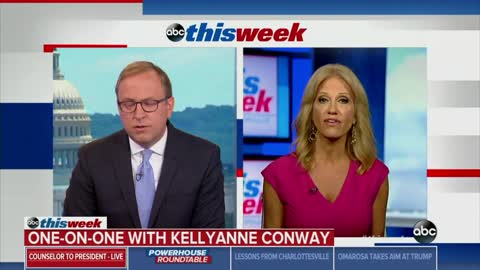 ABC News' Karl Asks Conway Who is Highest Level African-American in White House
