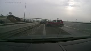 Vehicle Accident January 20 1247pm Southbound Deerfoot - Video