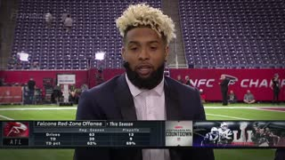 "Odell Beckham Jr. Says Julio Jones is a ""Nightmare"" - Video"