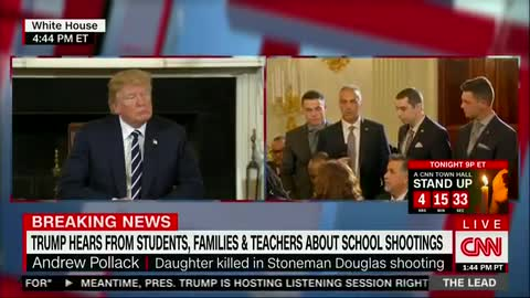 Father of daughter killed in Florida school shooting gives heartbreaking speech