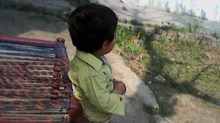 Little boy Talk to his Uncle and run away  - Video