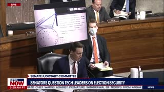 Senators question tech leaders about election security