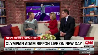 Olympian Adam Rippon Changes His Mind, Now Wants to Meet With Mike Pence - Video