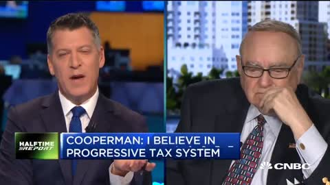 The CEO of Omega Advisors & billionaire investor, Leon Cooper Cooperman crying on CNBC today.