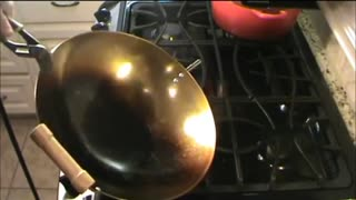 How To Season A Carbon Steel Wok - Video