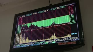 China shares dive, drag world markets lower. - Video