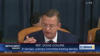 Collins opening statement in impeachment hearing