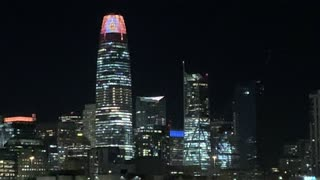 Salesforce Tower Embraces Halloween
