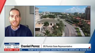 Florida Covid-19 Response - Interview With Rep. Daniel Perez
