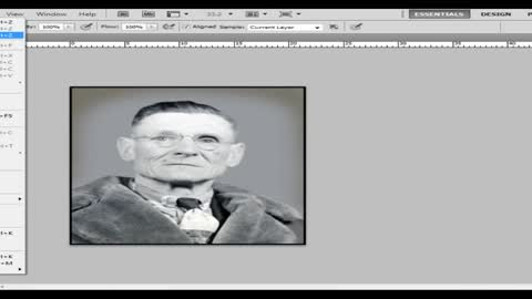 Old photo restoration tutorial using PhotoShop