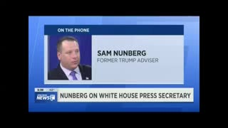 "Nunberg: White House press secretary Sarah Huckabee Sanders is a ""joke"" and a ""fat slob."" - Video"