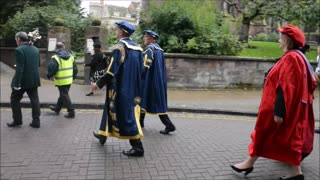Wolverhampton University Graduation Day - Video