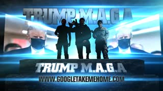 Trump M A G A Team Soldiers Warriors INTRO Show Mask!