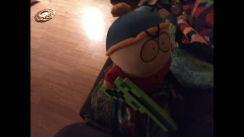 live stop action Cartman from southpark plays minecraft and it doesn't end well for him...