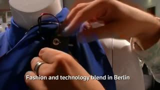 Fashion and technology intermix in Berlin - Video