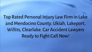 personal injury lawyer California - Video