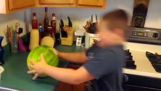 Kid's Head vs. Watermelon - Video
