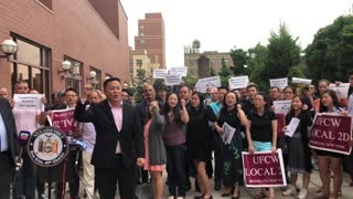 Local business owners protest Total Wine