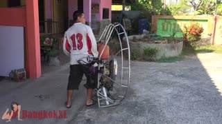 Somchai And His Giant Leaf Blower - Video