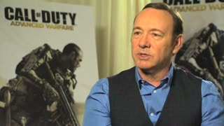 "Kevin Spacey breaks into games with ""Call of Duty"" - Video"