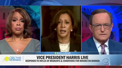 "Now VP Harris Says She'll ""Absolutely"" Go To Border With"