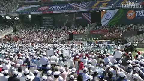 Trump rally in India