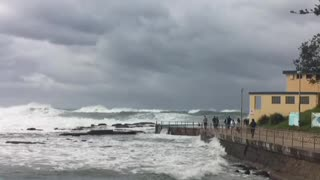 Rough down under today