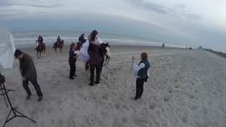 Bride Thrown from Horse During Photoshoot - Video