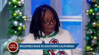 Behar Suggests Global Warming Caused Wildfires: 'Something to Do With the Planet Heating Up' - Video