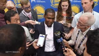 "Adam Silver On Kevin Durant Going To Warriors: Not ""Ideal From The League Standpoint"" - Video"
