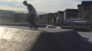 Scooter kids always getting in the way - Video