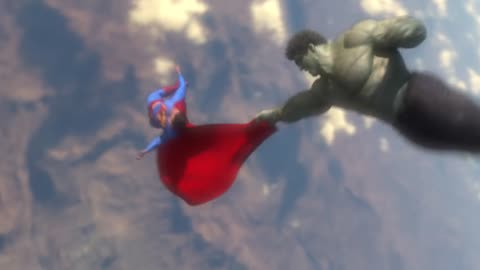 Making of Superman vs Hulk - The Fight (Part 4) - Draft #5